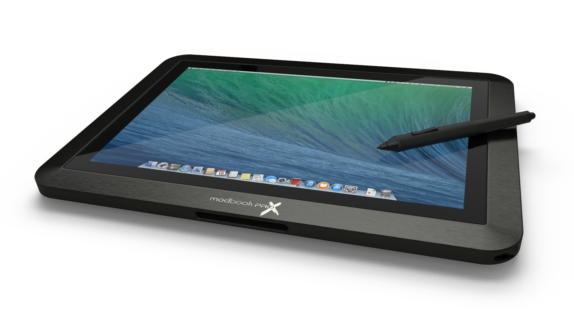 The Modbook as a tablet.