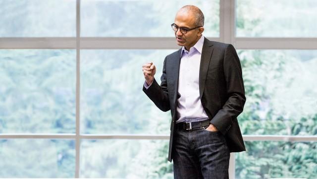 Bild zu «Nadella läutet Microsofts Fiskaljahr 2015 ein»