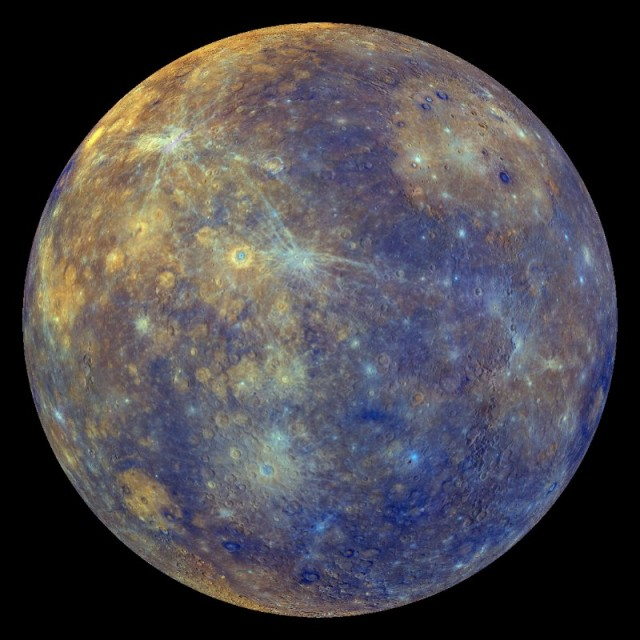 Hit-and-run planetary collisions may have left Mercury 70% iron