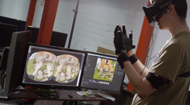 Control VR's gloves are one of a number of third-party natural motion control options being designed specifically for virtual reality.