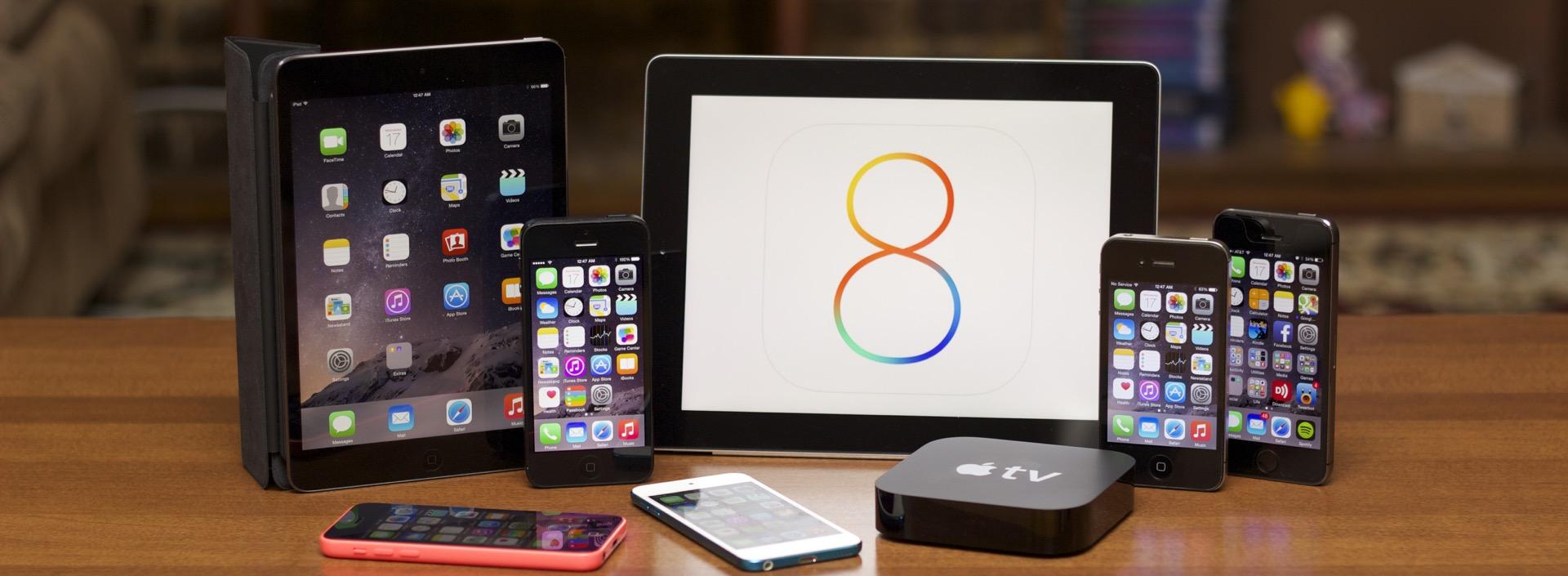 iOS 8 - svetapple.sk