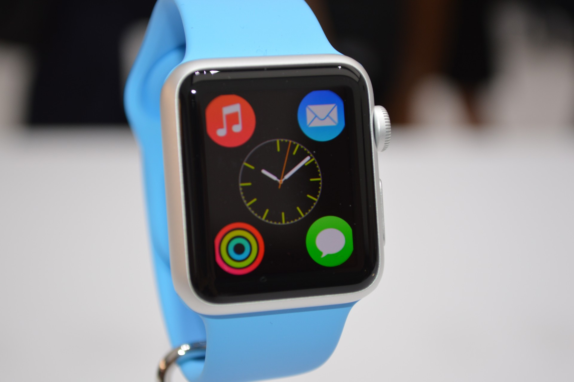 Not quite hands-on with the Apple Watch, and the questions it.