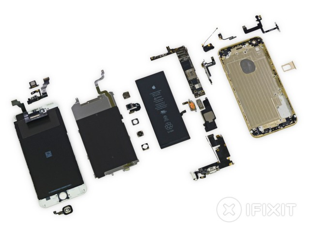 iFixit tears new iPhones apart, finds they're pretty easy to fix