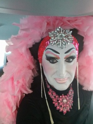 Sister Roma's selfie from early Wednesday before the meeting in which Facebook issued an apology to drag queens and performers affected by the social network's real-name policy, which should see sweeping changes in the near future.