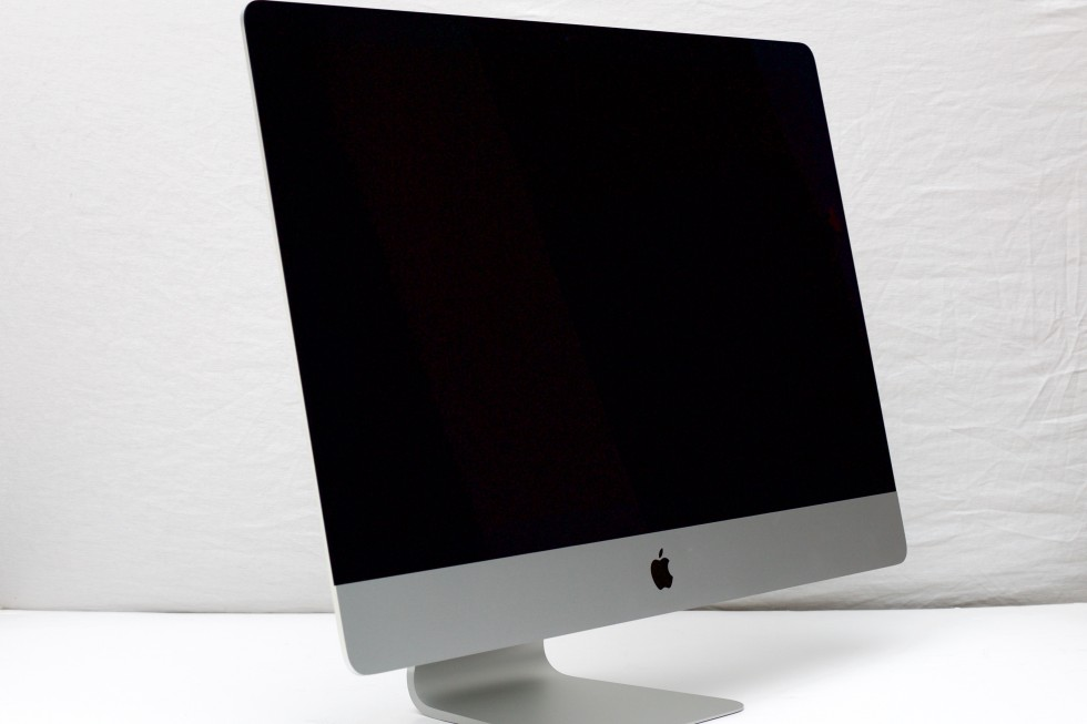 The new iMac—externally, same as the old iMac.
