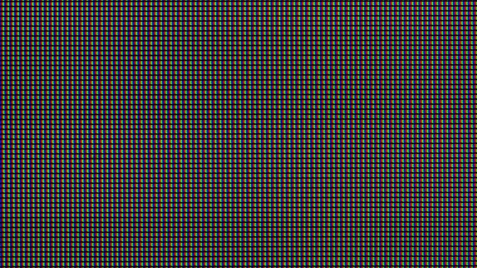 """The 109 PPI pixel layout of the standard 27"""" iMac."""