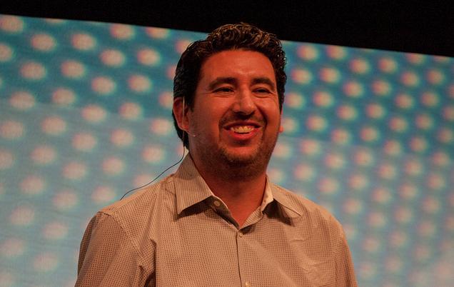 Markdown co-creator John Gruber at Webstock 2013.