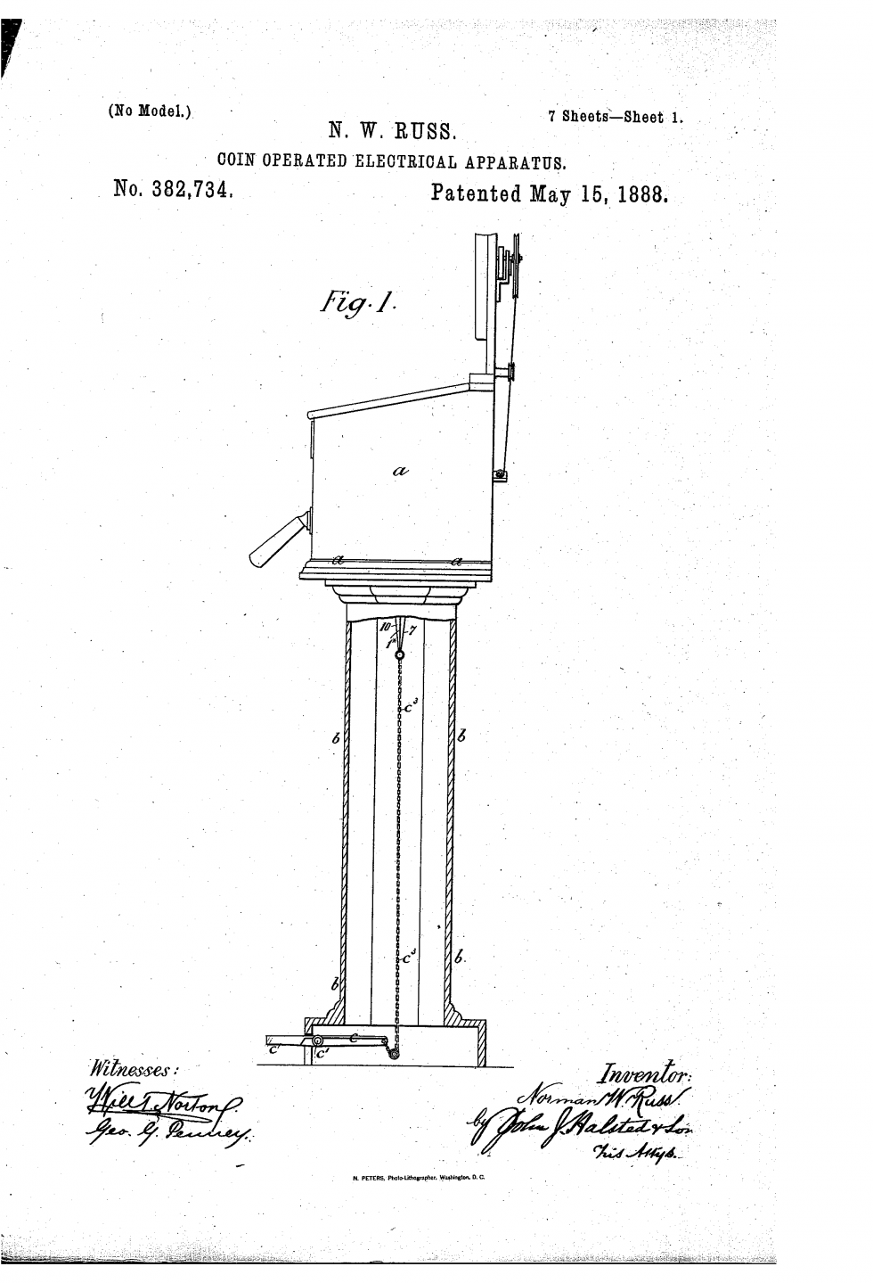 in 1888  one man patented a machine for vending  u201chealthy