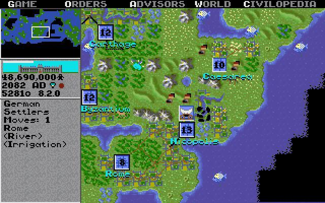 Before becoming the turn-based game we know and love, <i>Civilization</i> was a real-time, <i>SimCity</i>-style game, Meier said.