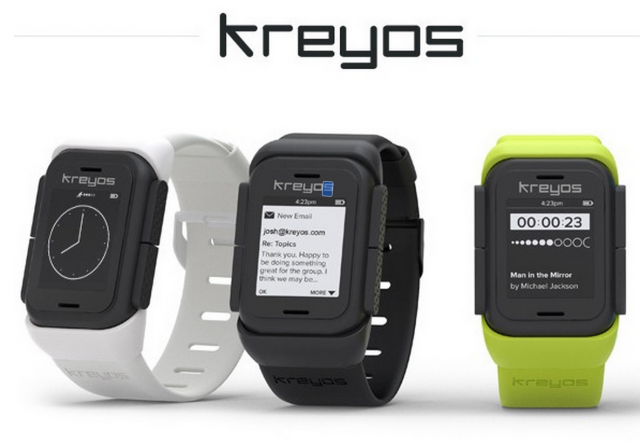 The Kreyos smartwatch, funded on Indiegogo, was never delivered in its promised form to backers.