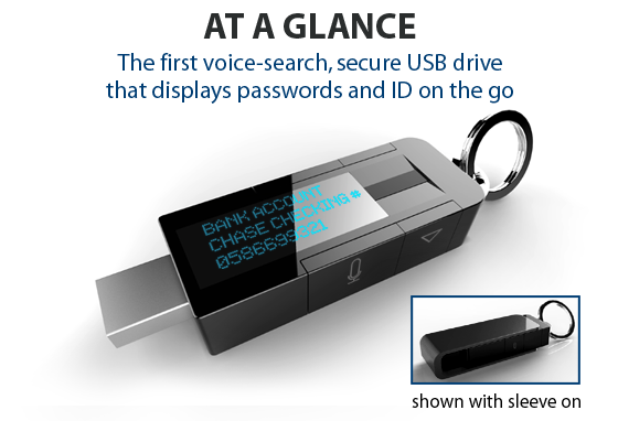 The original design for myIDkey, which went through significant revisions following its successful funding campaign.