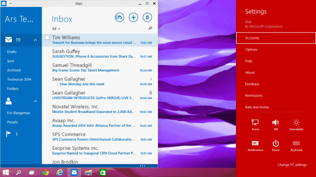 Things will change between the preview and the final release, but Windows 10 still has a lot of Windows 8 in it.