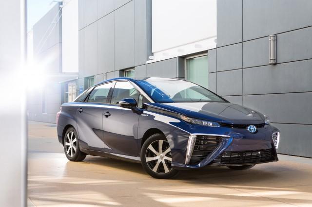 The 2016 Toyota Mirai.