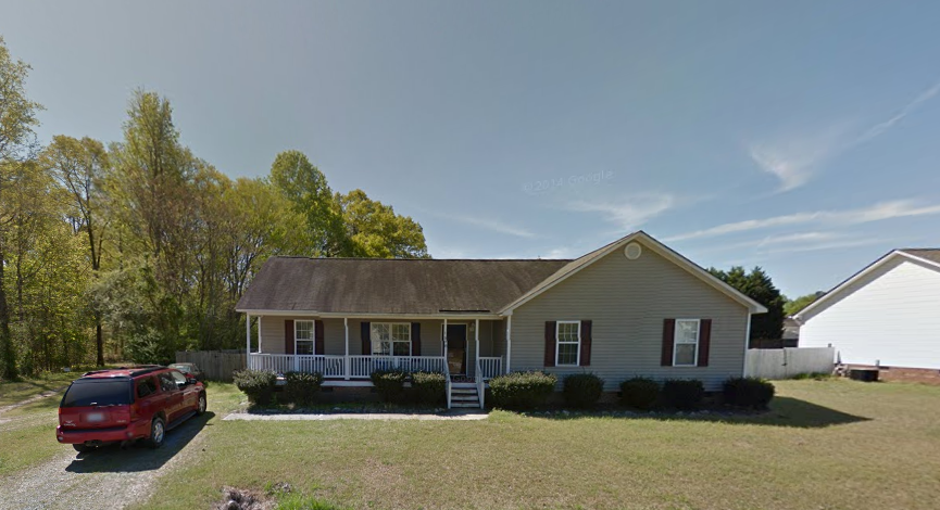The house that Jane Doe was recovered from in suburban Raleigh, North Carolina, where Victor Arroyo was arrested.