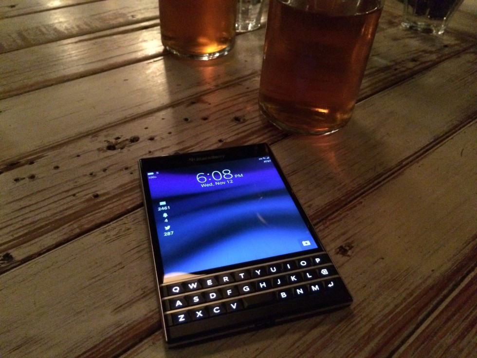 Ars reviews the BlackBerry Passport, the corporate tool