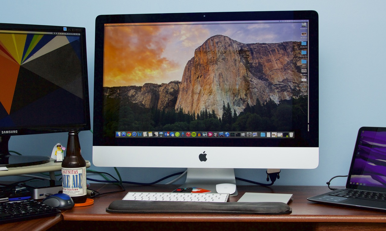 A week with the retina imac closing thoughts on apple s newest desktop ars technica - Computer desk for imac inch ...