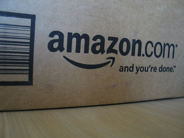 Amazon reports modest Q4 earnings and 2014 loss, but stock soars
