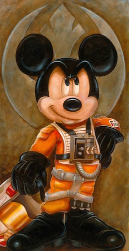 """""""No, George! We're fine without you!"""" (Imagine that spoken in Mickey's squeaky voice, obviously.)"""