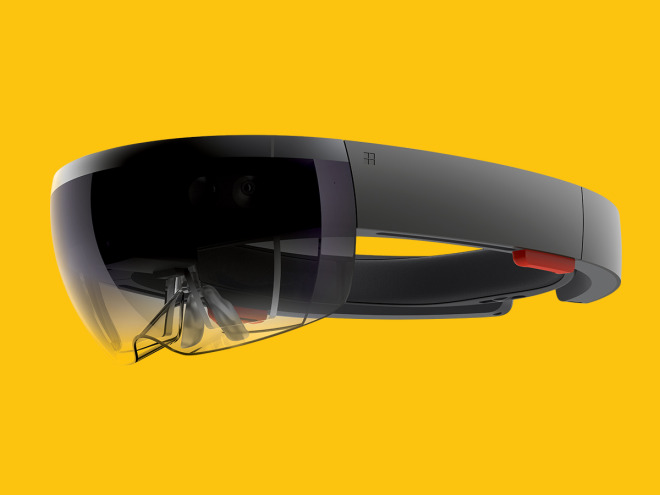 Behold, the HoloLens.