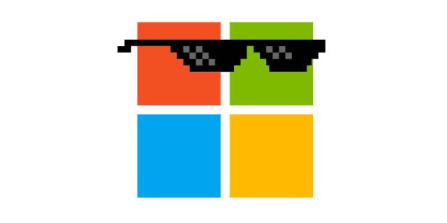 Microsoft's continuing efforts to be cool