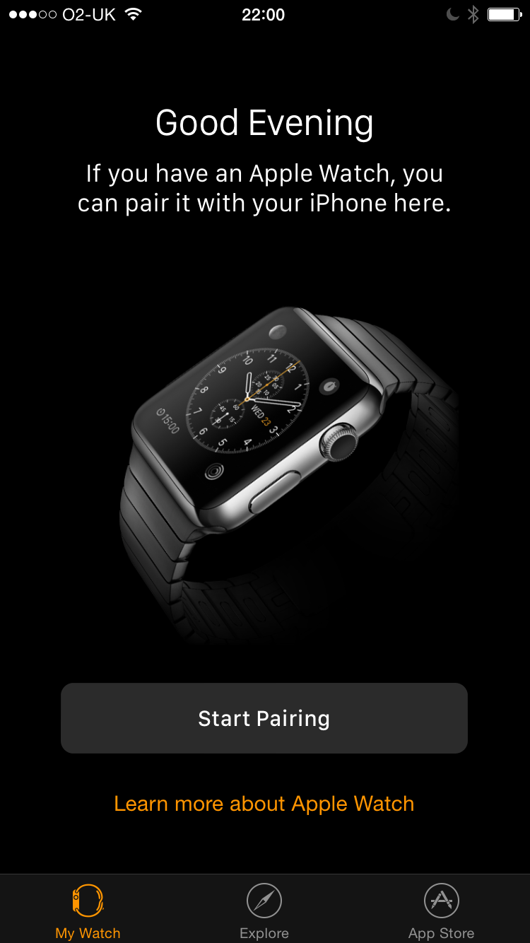 I don't have one yet, though! Good thing I can learn about it via the official, undeletable Apple Watch app.