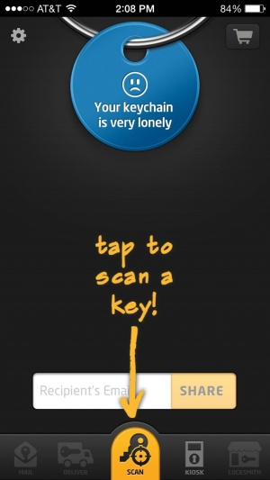 The KeyMe app needs your keys in its cloud in order to feel fulfilled.