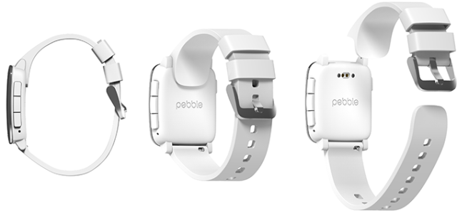 Pebble bumps its week-old Kickstarter with the Pebble Time Steel