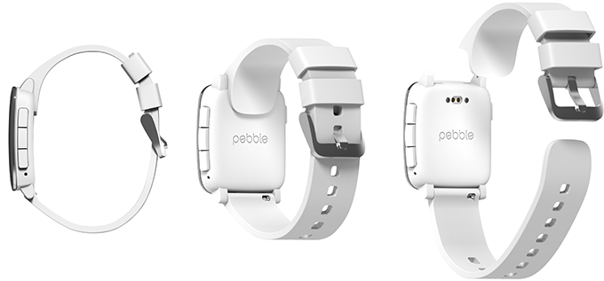 Pebble smartstraps can extend the hardware capabilities of Pebble Time and Pebble Time Steel.