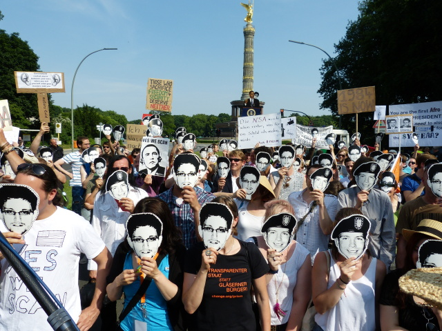 Snowden's leaks have made people aware of the scale of global surveillance.