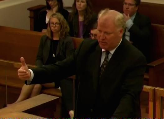 Daniel Voelker, representing Prenda-linked lawyers Hansmeier and Steele on appeal.