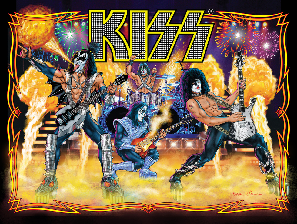 Play Pinball Like It S 1978 With The New Kiss Game Ars