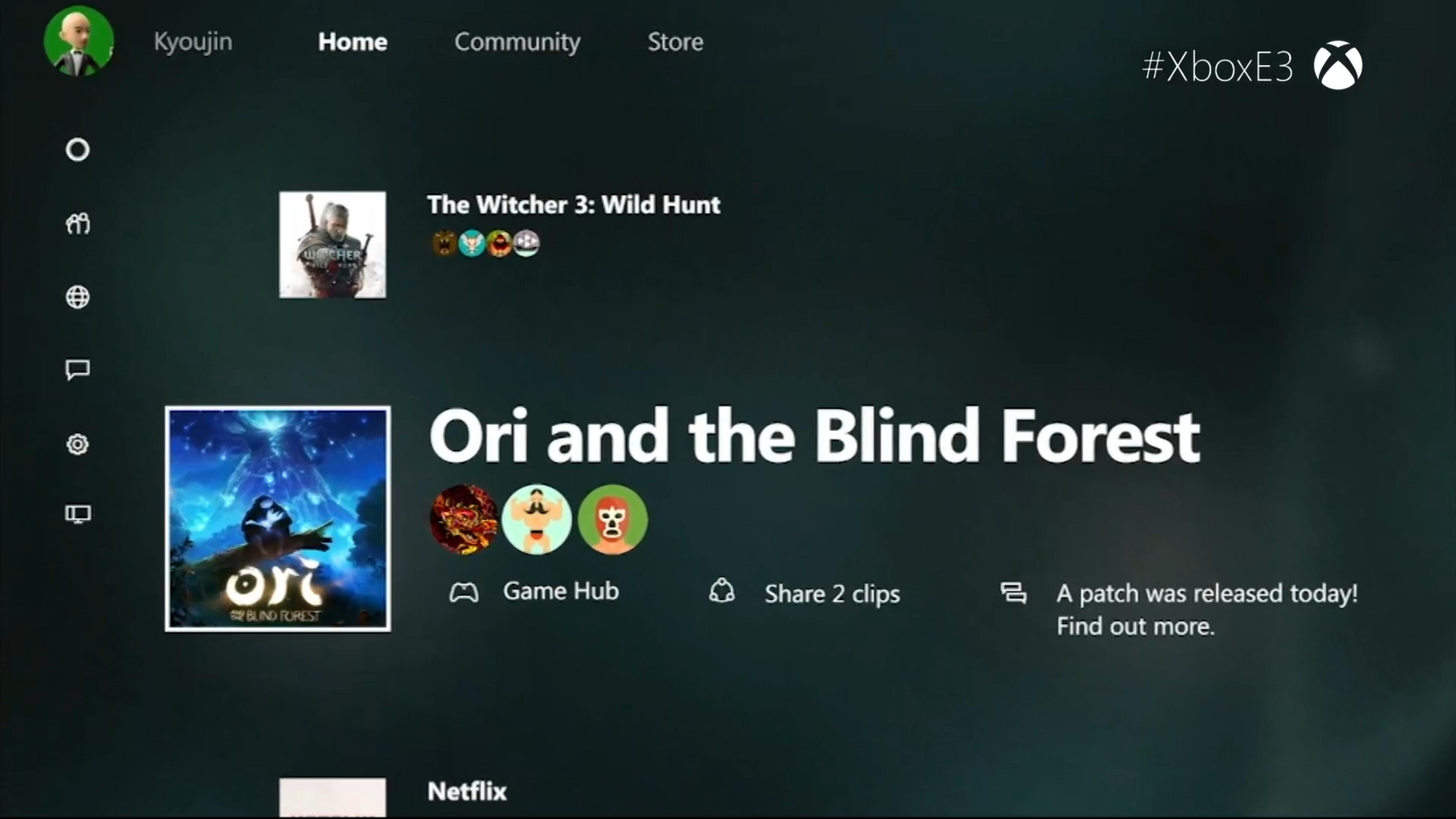 Xbox Windows 10 Share