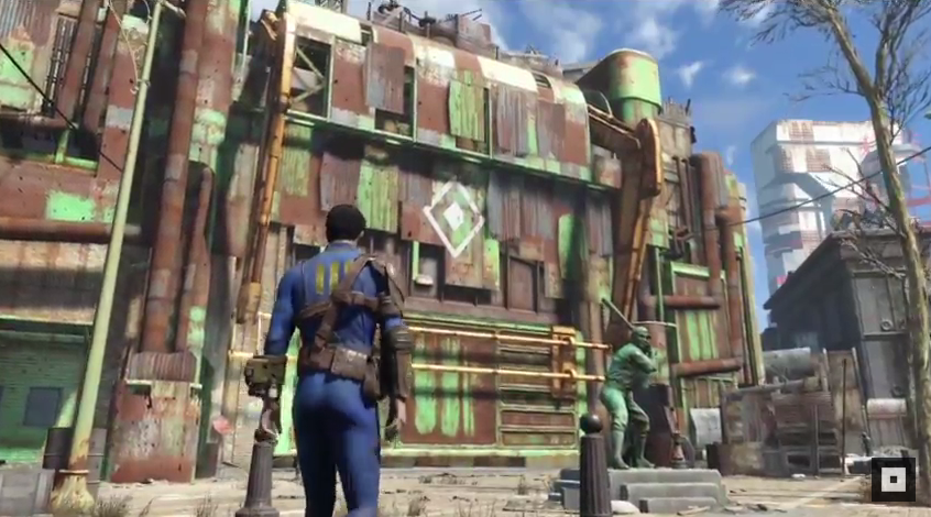 Mod That Opens Up The Buildings In Fallout