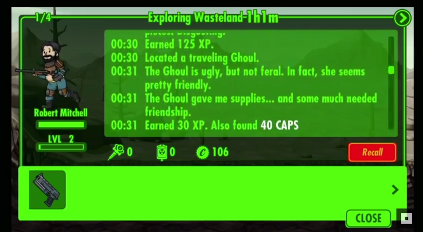 how to send people to wasteland fallout shelter