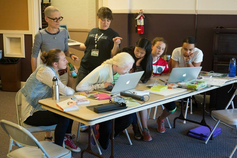 App Camp for Girls, a program for middle-school girls, is switching its entire curriculum to Swift this year.