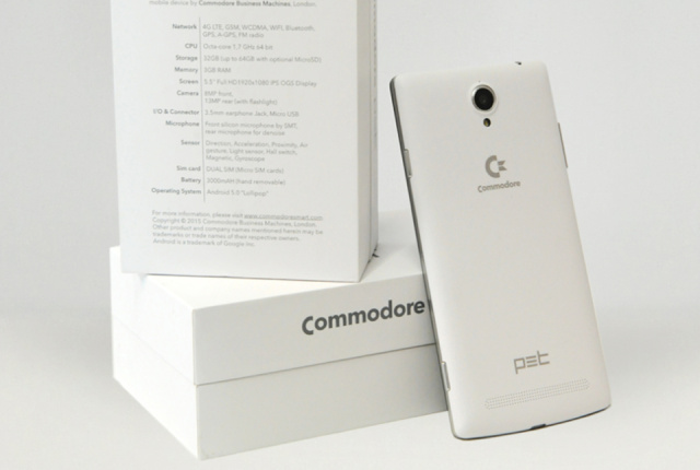 Commodore PET returns as a nostalgia-powered Android phone