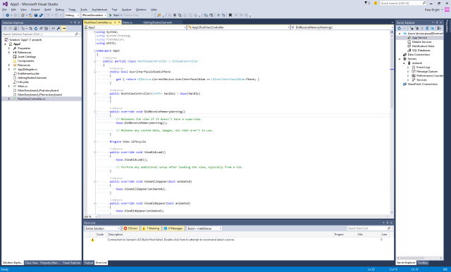 visual studio 2015 launches  with android  ios  and even