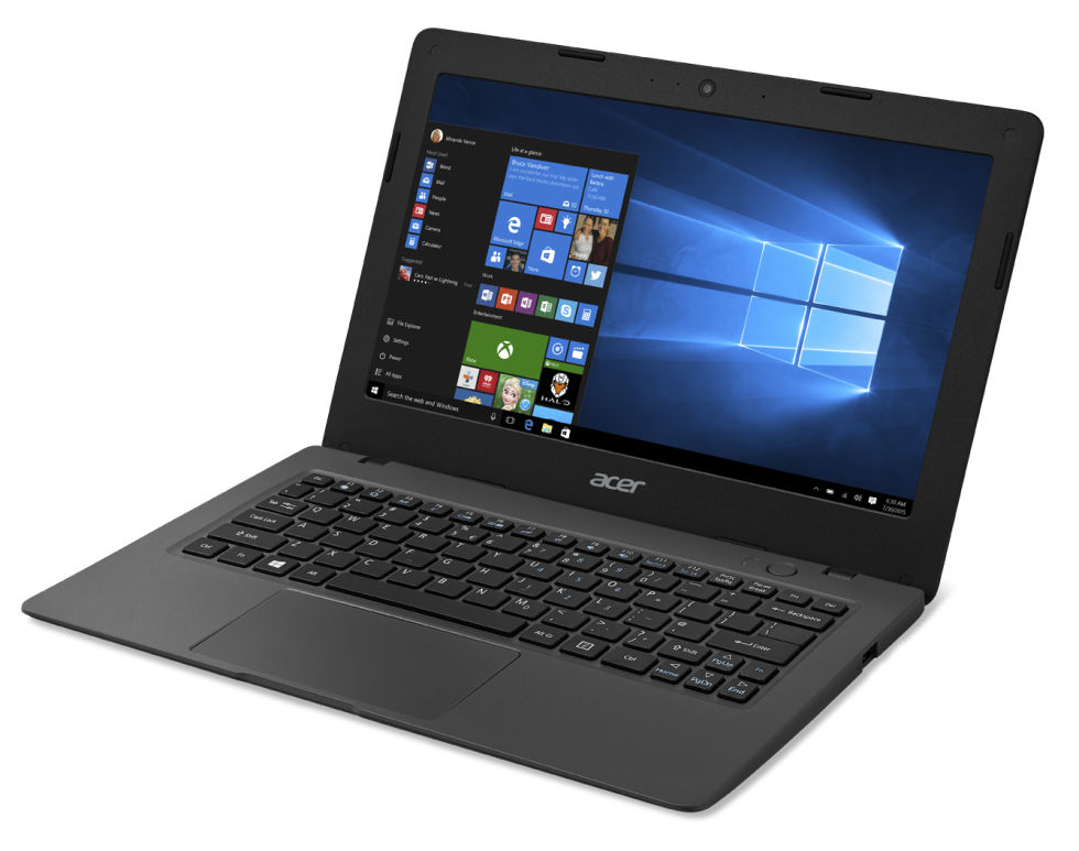 acer s cloudbooks are windows 10 laptops starting at. Black Bedroom Furniture Sets. Home Design Ideas