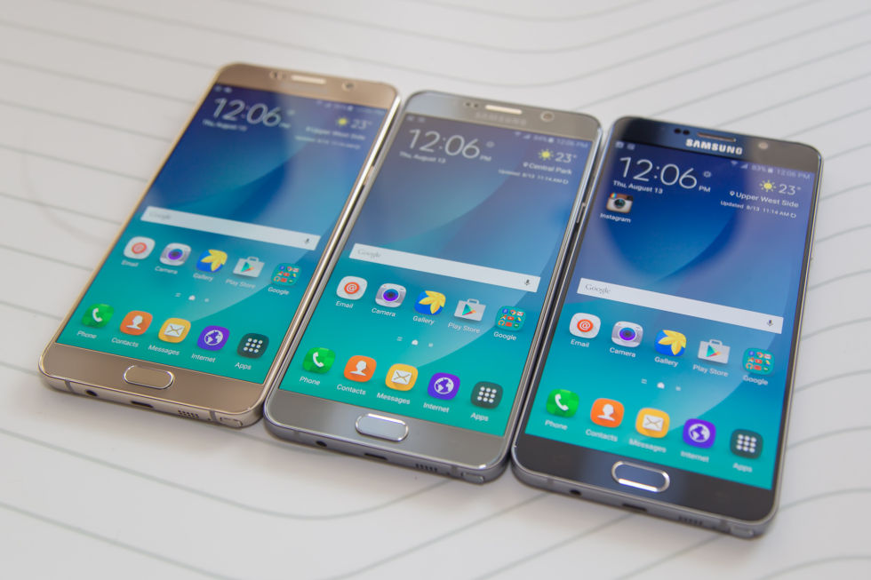 hands on with the samsung galaxy note 5 and galaxy s6 edge ars technica. Black Bedroom Furniture Sets. Home Design Ideas