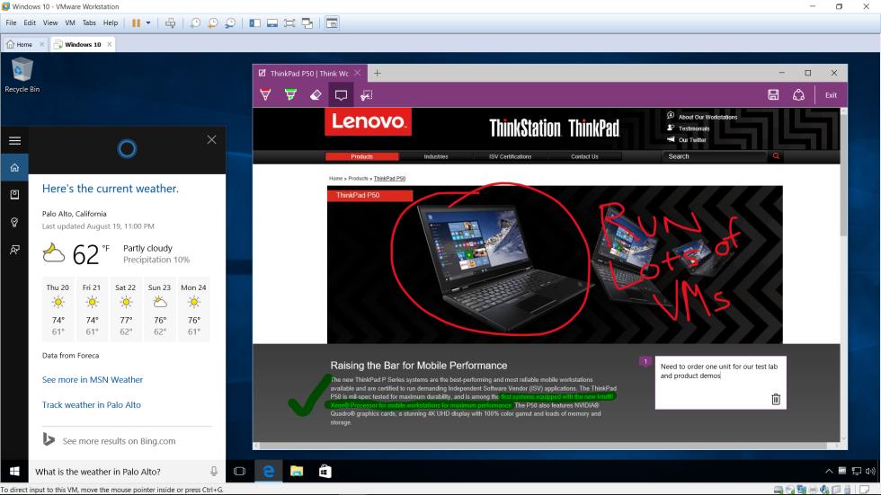 vmware machine free for windows 10