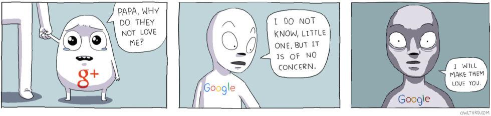 Google's social strategy.
