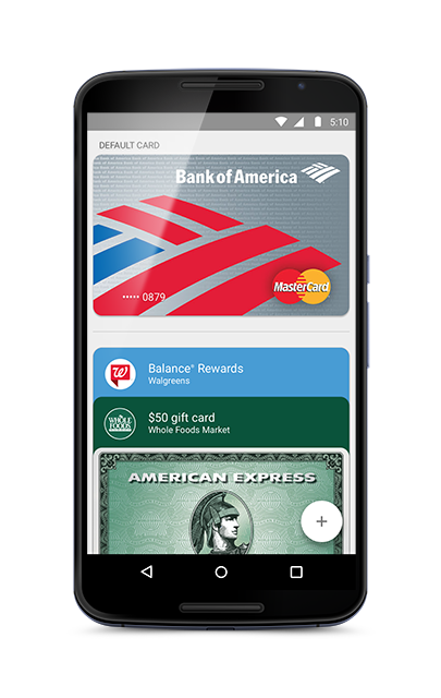 how to change android pay email