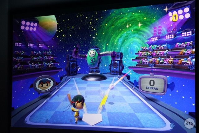 Harmonix's <i>Beat Sports</i>, the only Apple TV exclusive discussed at today's press event, seems diverting enough.