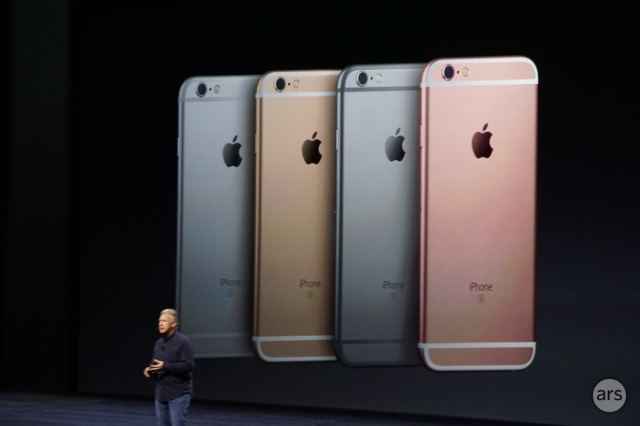 Image Gallery iphone 6s colour options