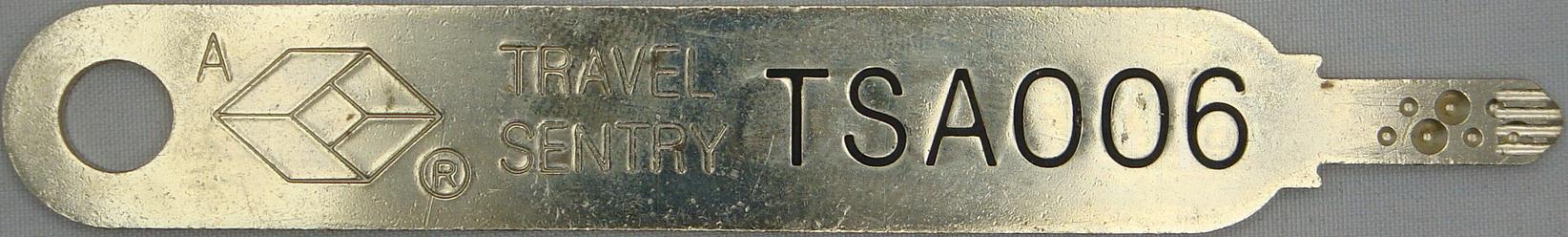 One of the seven Sentry locks.