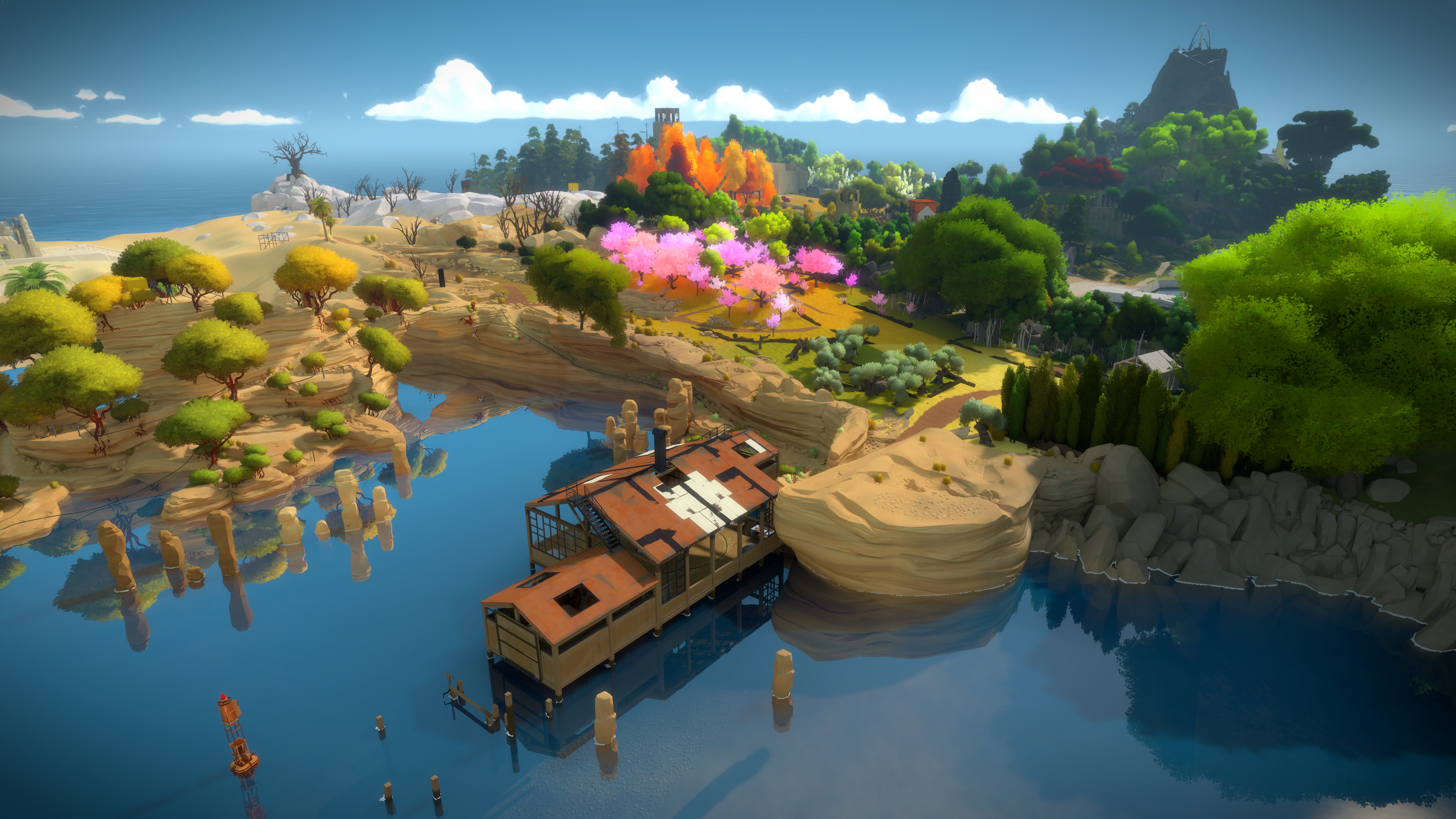 [PS4] The Witness  Shot_2015.09.16__time_13_01_n38