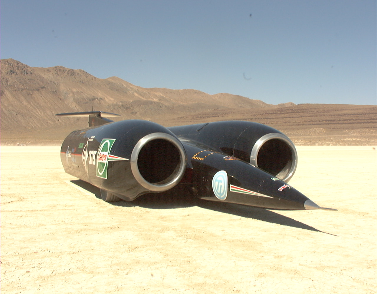 Land Speed Record >> Breaking the sound barrier by air, by land, and in free fall | Ars Technica