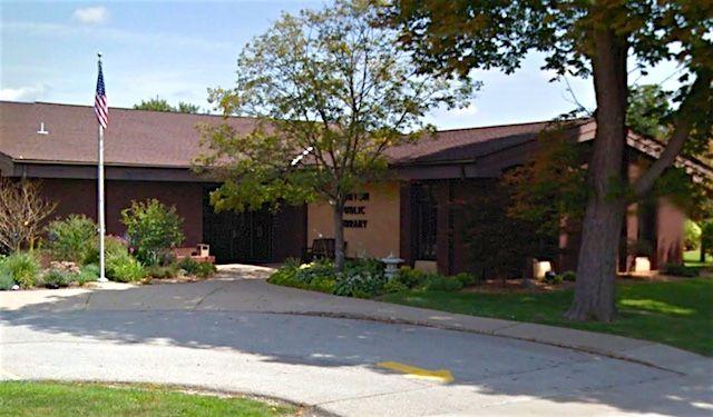The Morton Public Library.