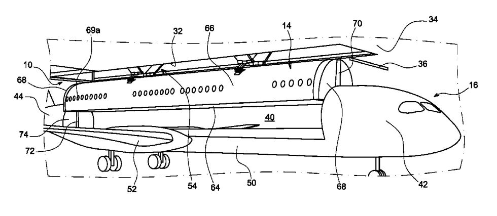 "Airbus proposes new drop-in airplane ""cabin modules"" to speed up boarding"