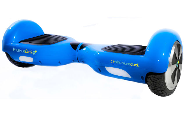 PhunkeeDuck's hoverboard costs $1,499.